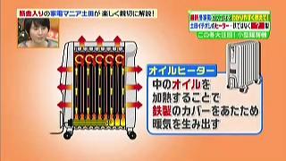 オイルヒーターの特徴