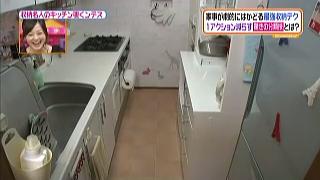 小笠原香里の家のキッチン