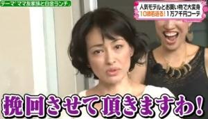 田中美奈子、迫力顔の画像(写真)