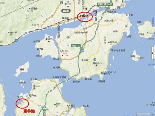 因島~向島~尾道1