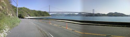 因島大橋全景