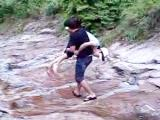 韓国の川にダイブ!4MAV_0004.3G2_000002003-2