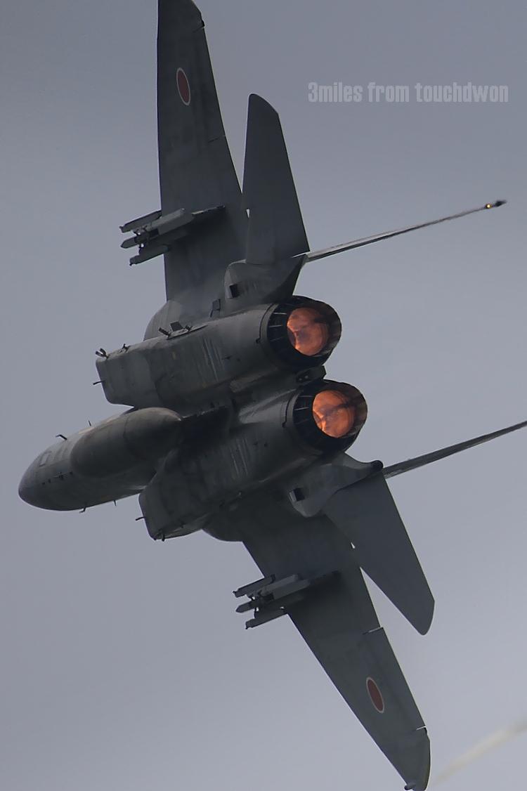 百里基地航空祭 F-15イーグル
