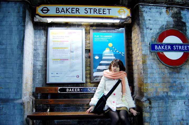 映画けいおん!平沢唯inBaker Street