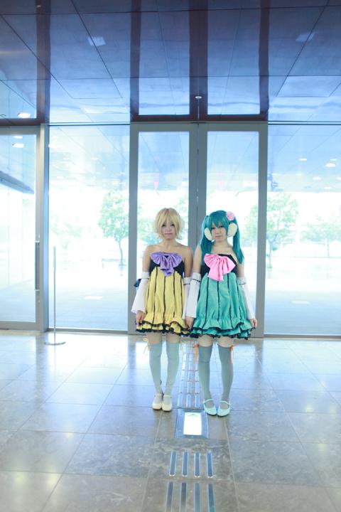 Vocaloid(初音ミク&鏡音リン)カラフルメロディ合わせ