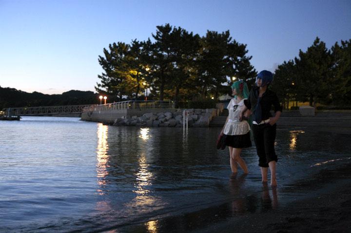 Vocaloid/KAITO・初音ミク/ワールドイズマインin海