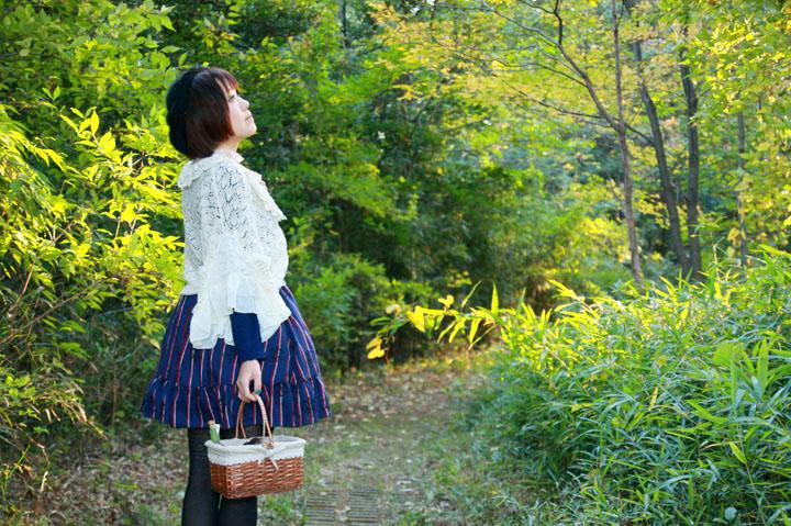 秋の私服ポートレート