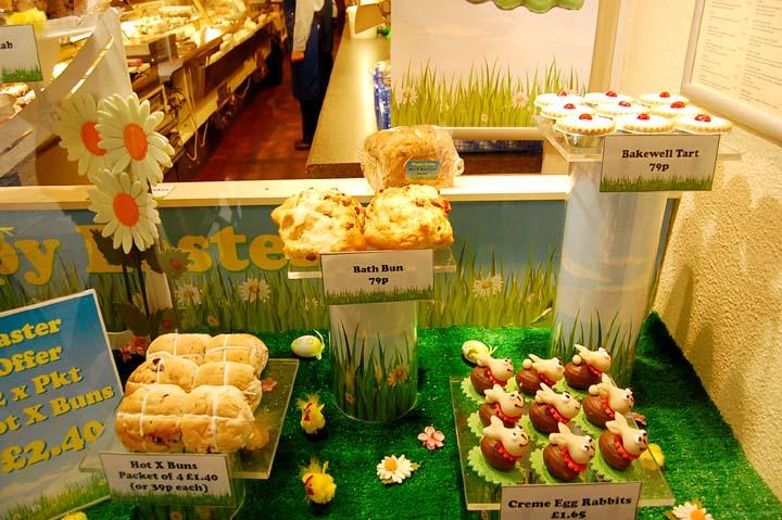 イギリスのお菓子屋