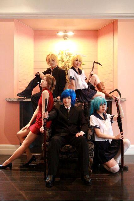 Vocaloid/BLAZE/初音ミク・KAITO・MEIKO・鏡音リン・鏡音レン