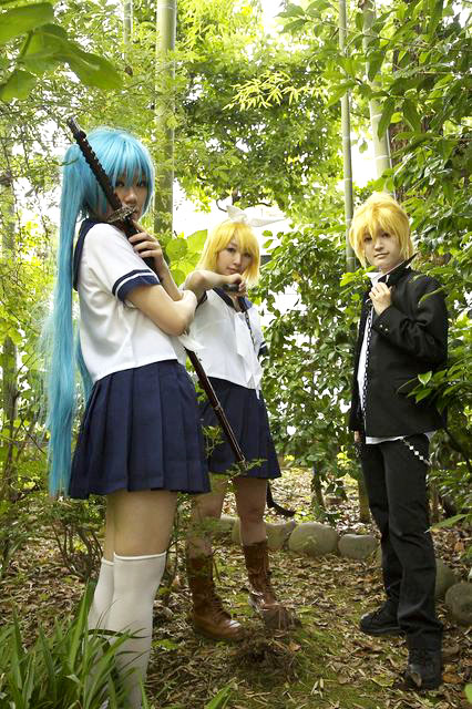 Vocaloid/BLAZE/初音ミク・鏡音リンレン