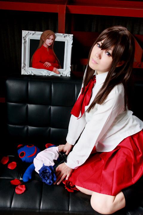 ホラーアドベンチャーフリーゲーム『 Ib 』/イヴ/イヴと「赤い服の女」と青い人形