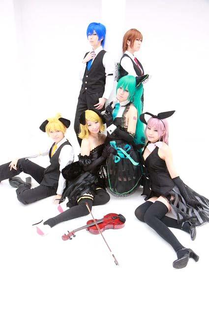 リスキーゲーム/初音ミク・鏡音リン・鏡音レン・巡音ルカ・KAITO・MEIKO