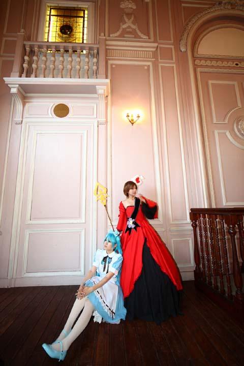 ハートの女王&アリス