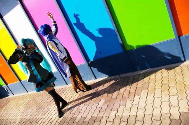 Vocaloid/初音ミク&KAITOとしまえんデート