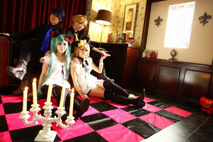 ワールドイズマイン/KAITO&初音ミク/鏡音レン&鏡音リン