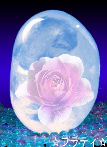 水晶に閉じ込められたバラ.jpg