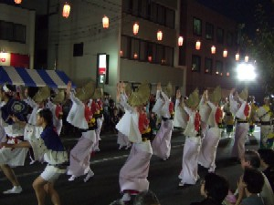 7/24 地元 新橋連  やまと阿波踊り