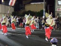 7/24 地元 あずま連  やまと阿波踊り