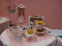 4/26 ホビーショーの展示 中央左 スィーツ妖精のカフェ