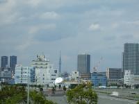 4/29 ビッグサイト東棟2階端からの眺め スカイタワー