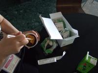 4/29 ホビーショー お昼 おにぎり弁当
