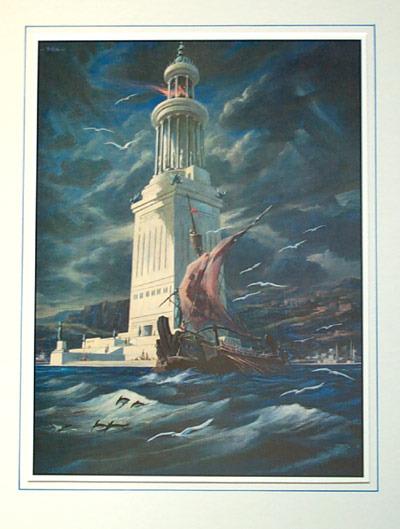 愛する猫ちんと船釣りと観光地めぐり-アレクサンドリアの大灯台