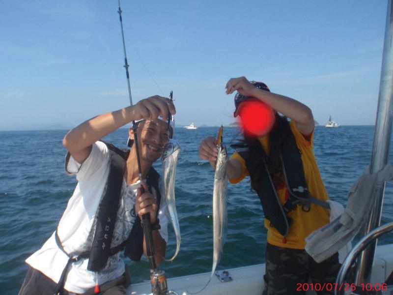 愛する猫ちんと船釣りと観光地めぐり-太刀魚