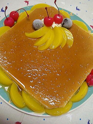 2010.9.18プリンケーキ