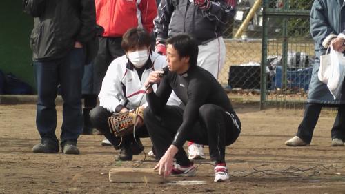 鈴木選手走塁