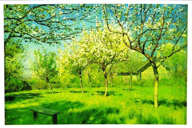 イサーク・レヴィタン 満開の林檎の木