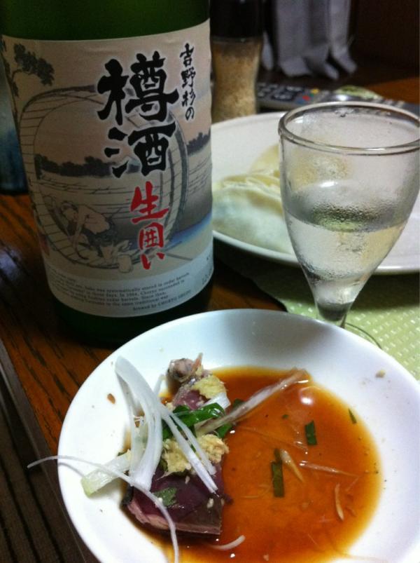 吉野杉の樽酒