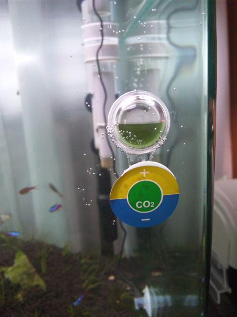 ミニCO2インジケーター