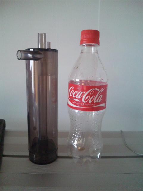 CO2リアクター大きさ比較