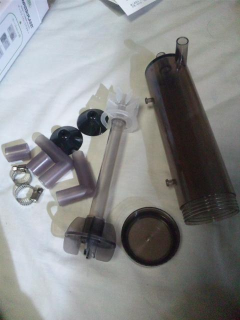 CO2リアクターセット内容
