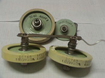 円盤型コンデンサー