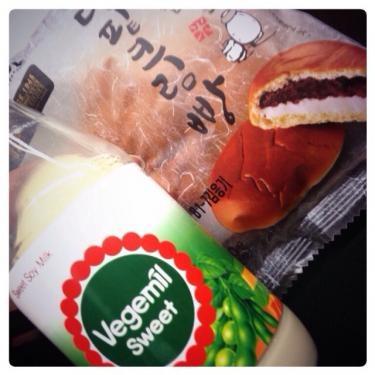 日本でも飲んでいた豆乳を韓国で再び…