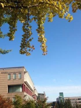 秋色の国民大学へと行ってきました^^