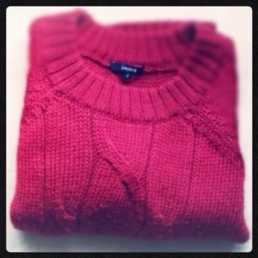 韓国でも스웨터(セーター)着る方も多いはず…。