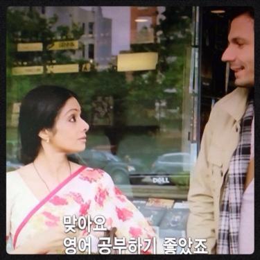 韓国語の吹き替えでなおかつ韓国語の字幕が出るのは不思議で、でもありがたいㅎㅎ