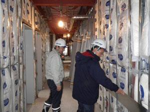 刈羽地域共生事業施設建設工事 安全パトロール