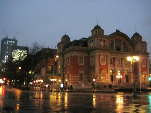 雨の中央公会堂
