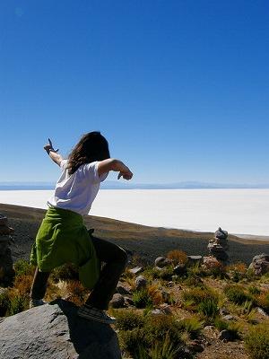 ボリビア|ウユニ塩湖11