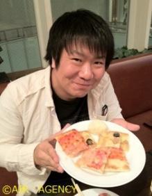 ピザと村上