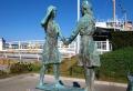 ガールスカウトの像