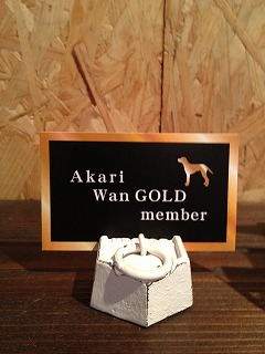 wan gold menber card