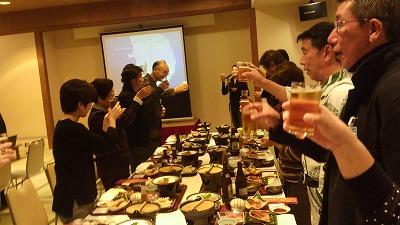 釜石からイベントへ招待(交流会の様子)