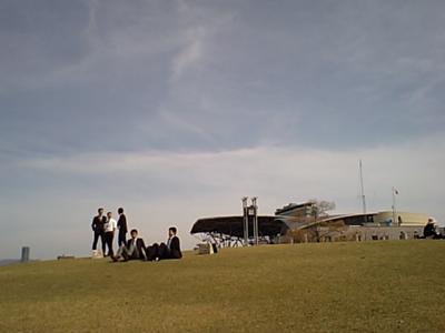 20110417前ちん式休憩中.JPG