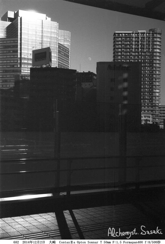 大崎の月、新橋の月682-11