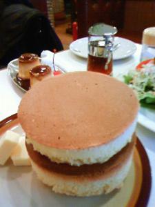 イワタ珈琲店 ホットケーキ