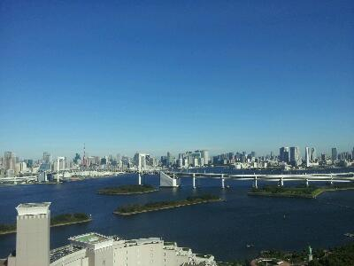 東京タワー&レインボーブリッジ